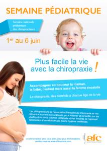 semaine pédiatrique de la chiropratique