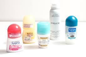 toxicité déodorant