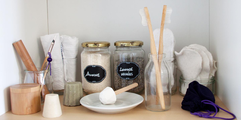 Votre salle de bain zéro déchets - Famille en pleine santé